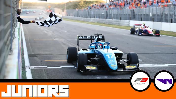 Débrief Juniors : FIA F3, W Series.