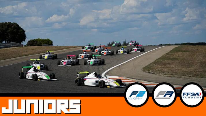 Débrief Juniors : FIA F2, FRECA, FFSA F4