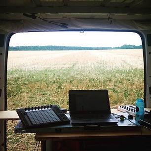 Ein Studio im Kornfeld, das ist immer fr