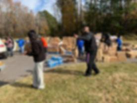Support Agencies at DIllon County Food Drive