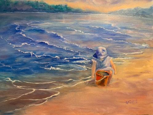 Sand Pails And Sand -  Bonnie Denny