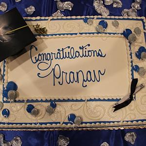Pranav Graduation Party