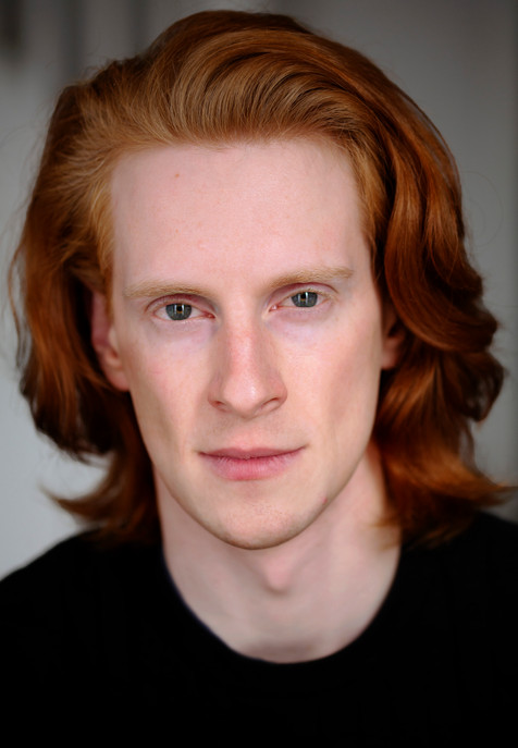 Headshot of Daniel James Greenway. Dancer and actor with Olivia Bell Management.