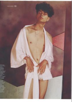 Vogue homme Paris