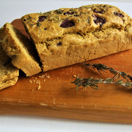 Olive & Rosemary Bread