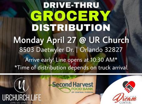 Drive Thru Mobile Food Distribution