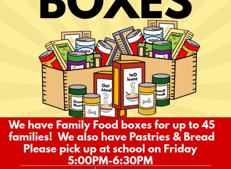 Free Groceries Boxes