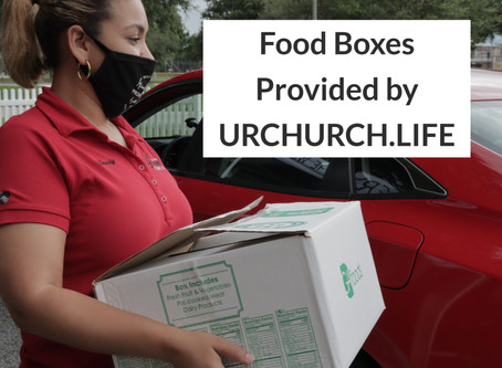 Free Grocery Boxes Today until 6:30pm