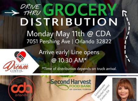 Food Drop At CDA Orlando