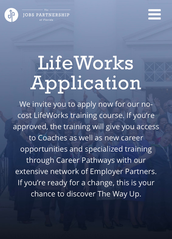 Life Works Application