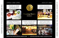 Tasting Room Flyer