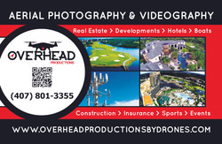 Overhead Productions Car Magnet