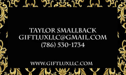 Gift Lux Business Card Back