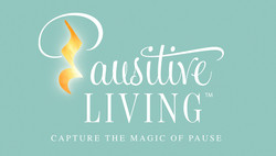 Pausitive Living Business Card Front