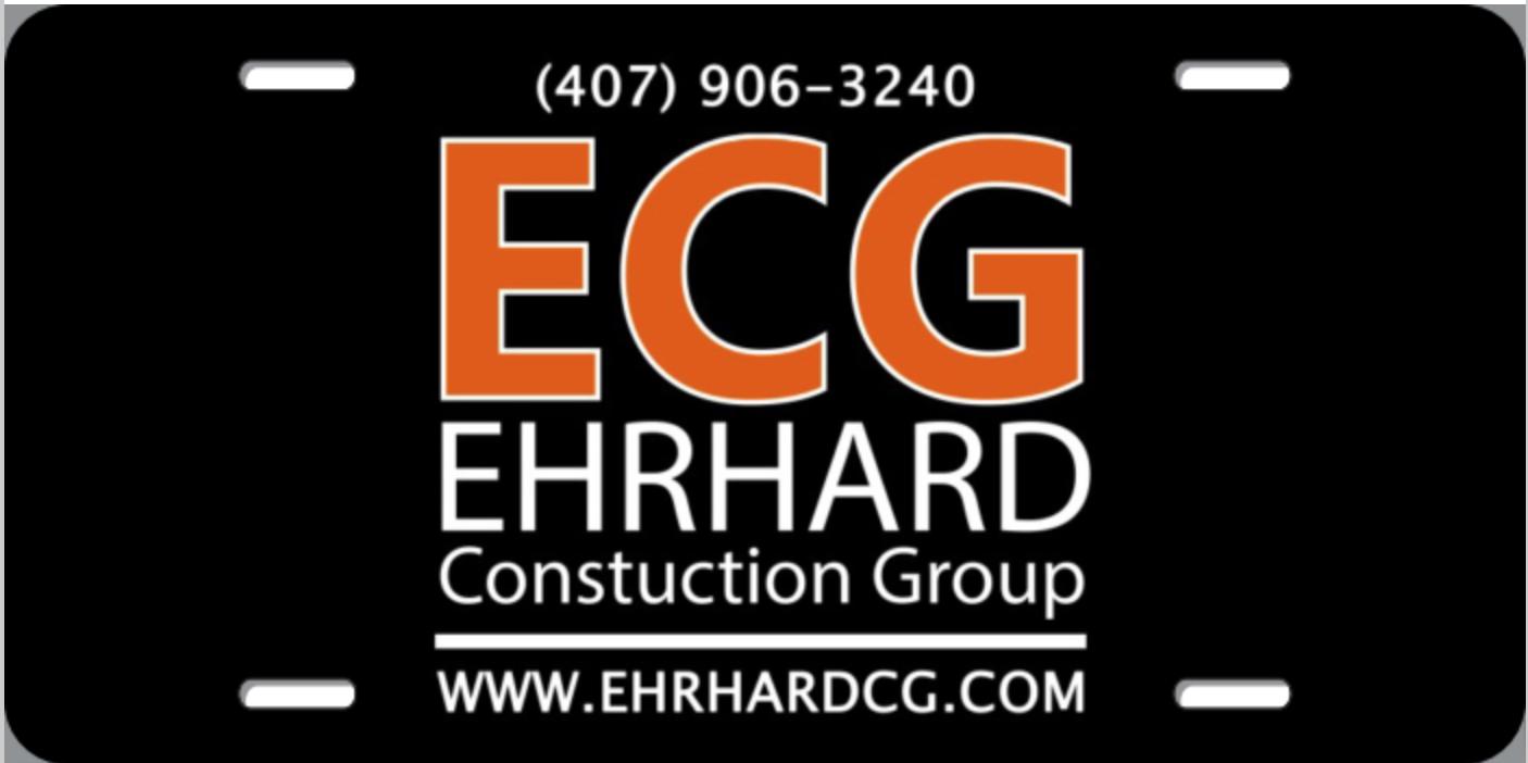 ECG License Plate