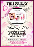 graphic design, creative, web, banner, image, flyer, design, marketing, makeup love, makeup love cosmetics, visionation