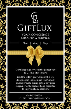 Gift Lux Flyer Front