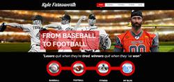 Kyle Farnsworth Homepage Design