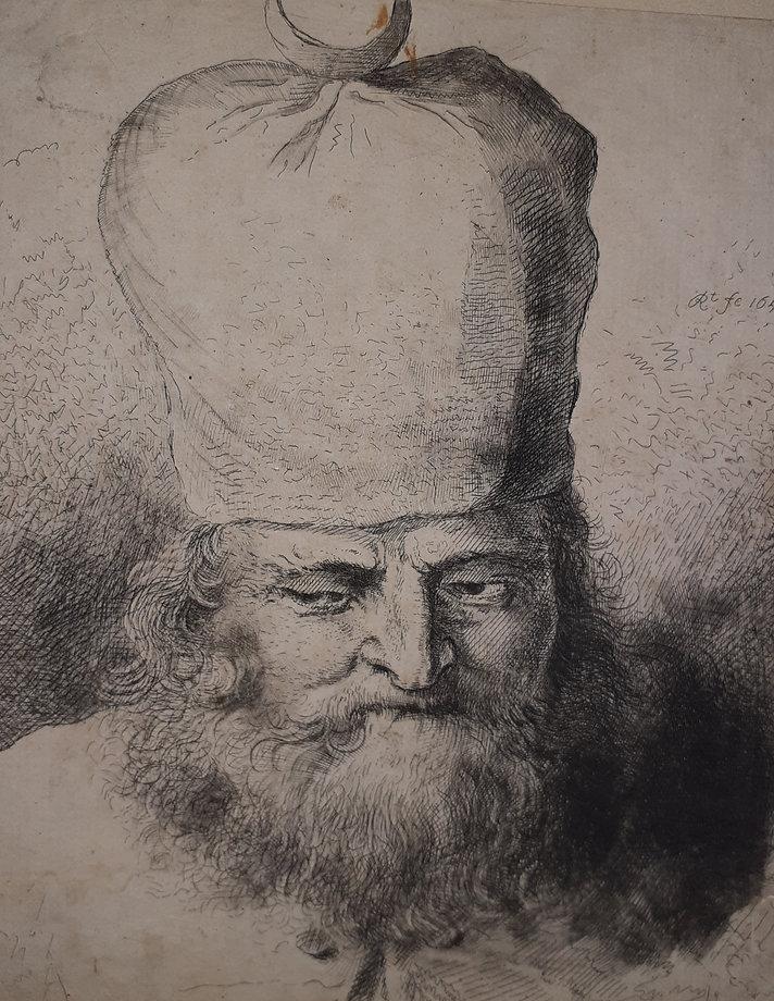 Undiscovered Rembrandt Etching