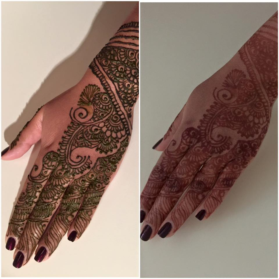 Henna - Before & After