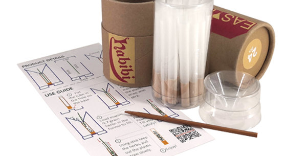 EasyFill Pre-Rolled Filter Tubes