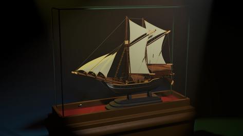 Ship in Glass