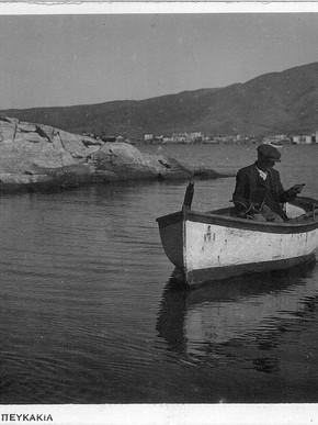 Πευκάκια, φωτ. Κ. Ζημερης, Περιπου1920, Μαγνησία στο πέρασμα του χρόνου