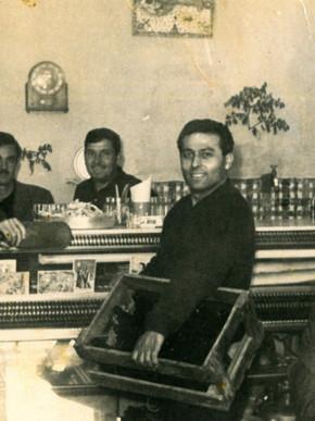 Ουζερί Καλαφατάκη 1950