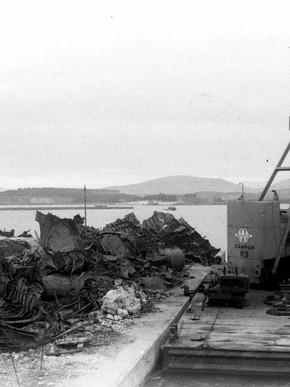 Συντρίμια βυθισμένων Γερμανικών πλοίων, Μαγνησία στο πέρασμα του χρόνου