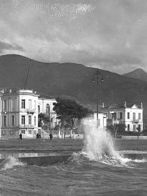 Τρικυμία πάρκο 1928, φωτ. Κ. Ζημέρη, Αρχείο ΔΗ.Κ.Ι.