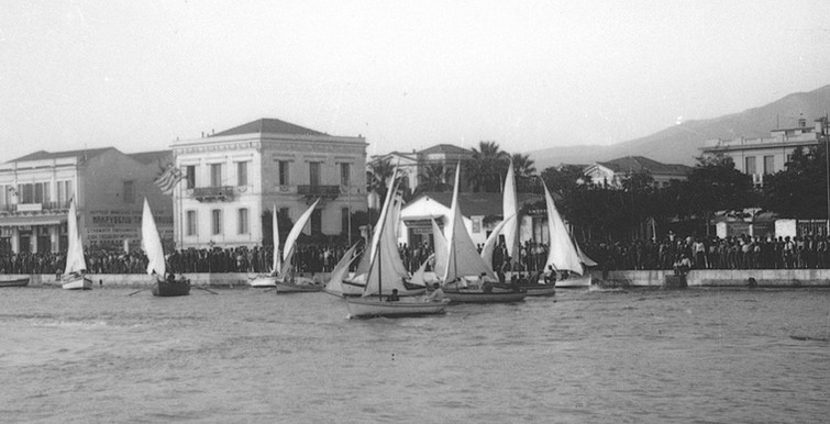 Φωτ.Κ Ζημέρης,  Βαρκούλες στο λιμάνι περιπου 1928, Αρχείο ΔΗ.Κ.Ι.