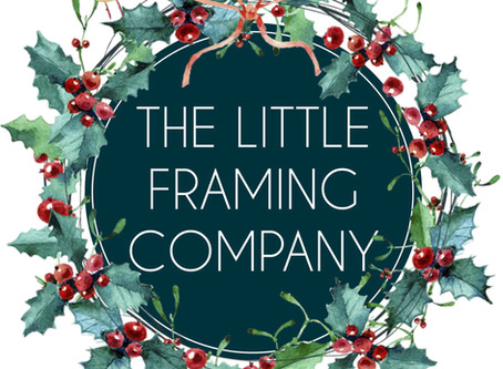 Christmas at The Little Framing Company