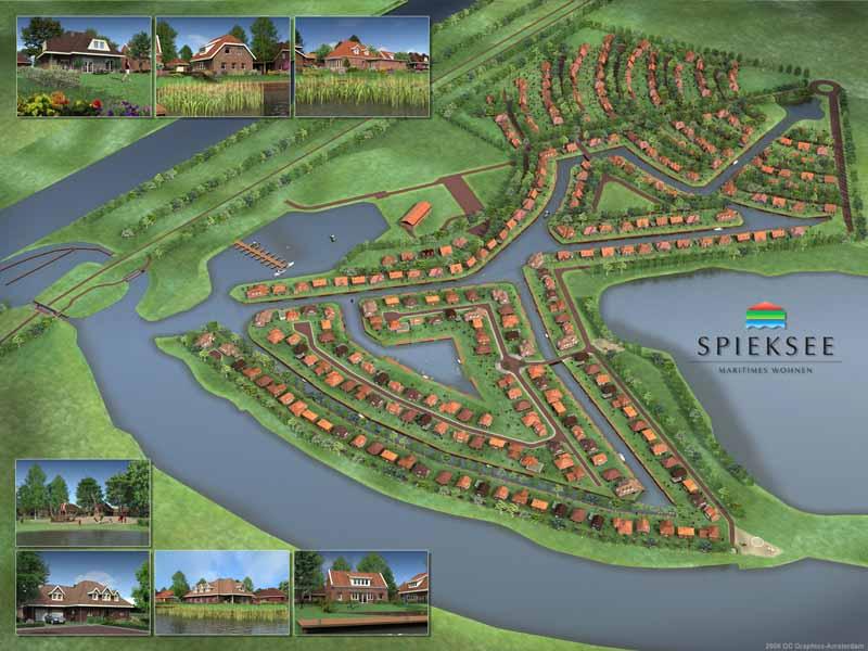 Spieksee - Gebietsentwicklung