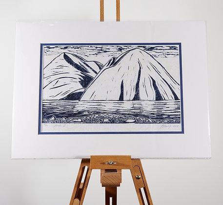 Ben Ohau (unframed print)
