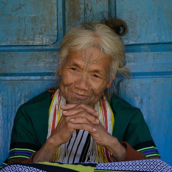 Elder, Chin State, Myanmar