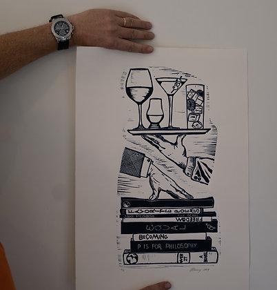 Hands (unframed print)