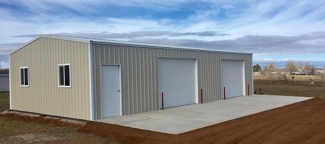 oversize garage, shop, storage