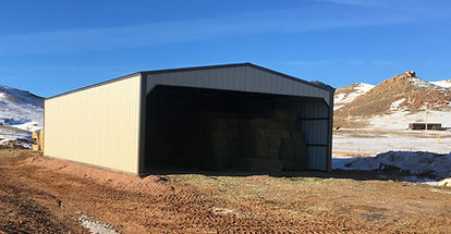 hay storage, barn, vehicle storage