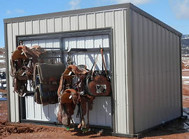 spinning tack wall, storage