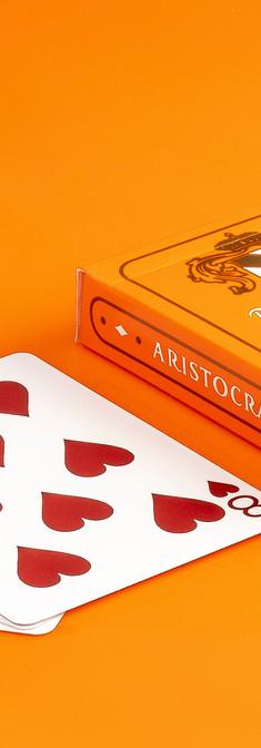 Aristocrat Orange Card Deck