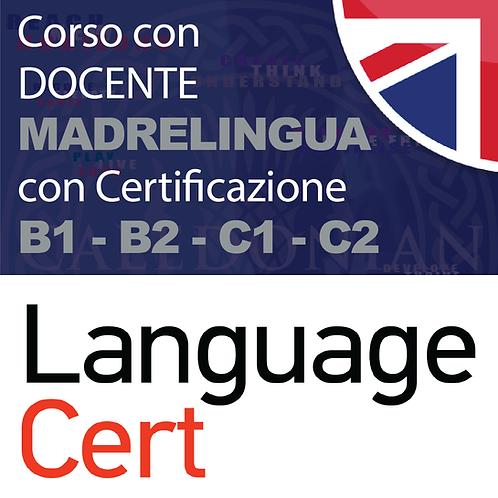 CORSO PREPARATORIO DI 30 ORE - CON CERTIFICAZIONI B1 - B2 - C1 - C2