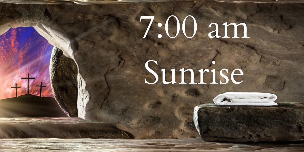 7:00 am Sunrise Easter Worship
