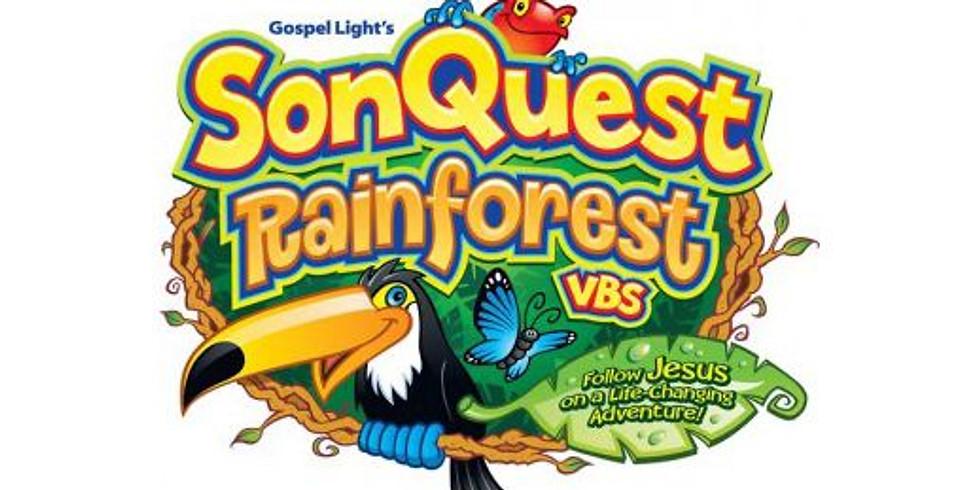 Rainforest Vacation Bible School