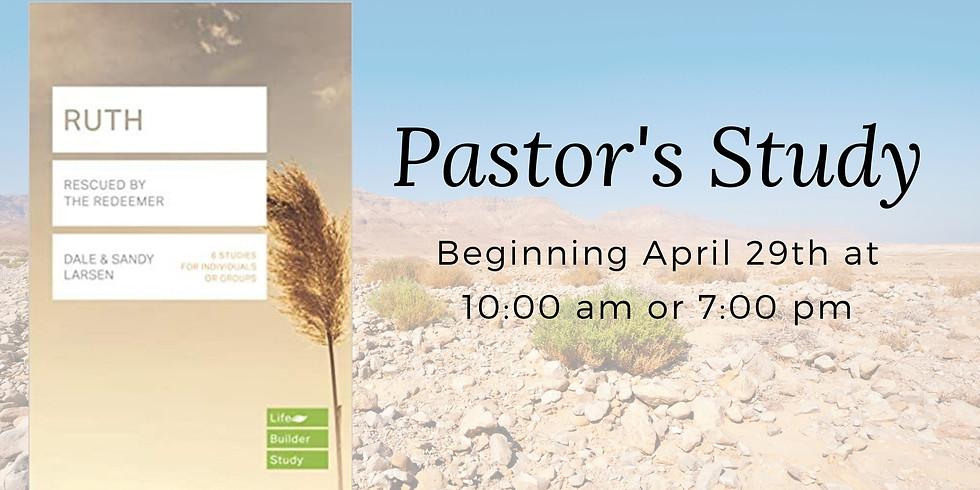Pastor's Study - Ruth