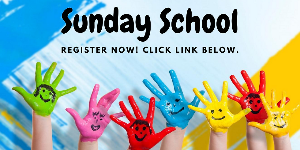 Sunday School Teacher Signup