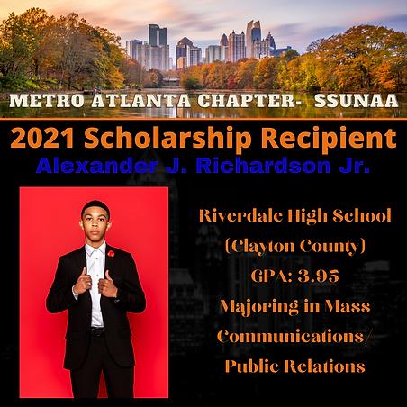 Alexander J. Richardson Jr.- 2021 Schola