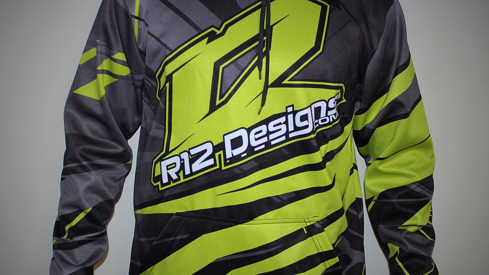 R12 Limited Sublimated Hoodie