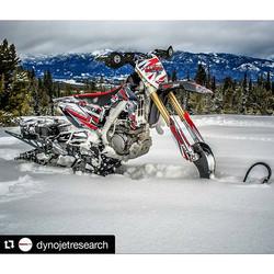 Dynojet RMZ450 Snowbike