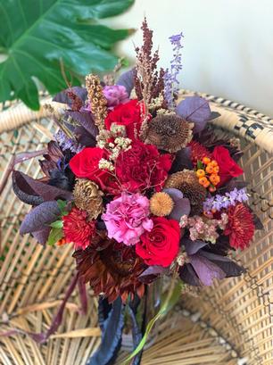 Moody Fall Bouquet