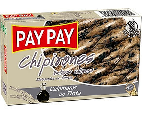 PAY PAY CALAMARES CHIPIRONES RELLENOS x